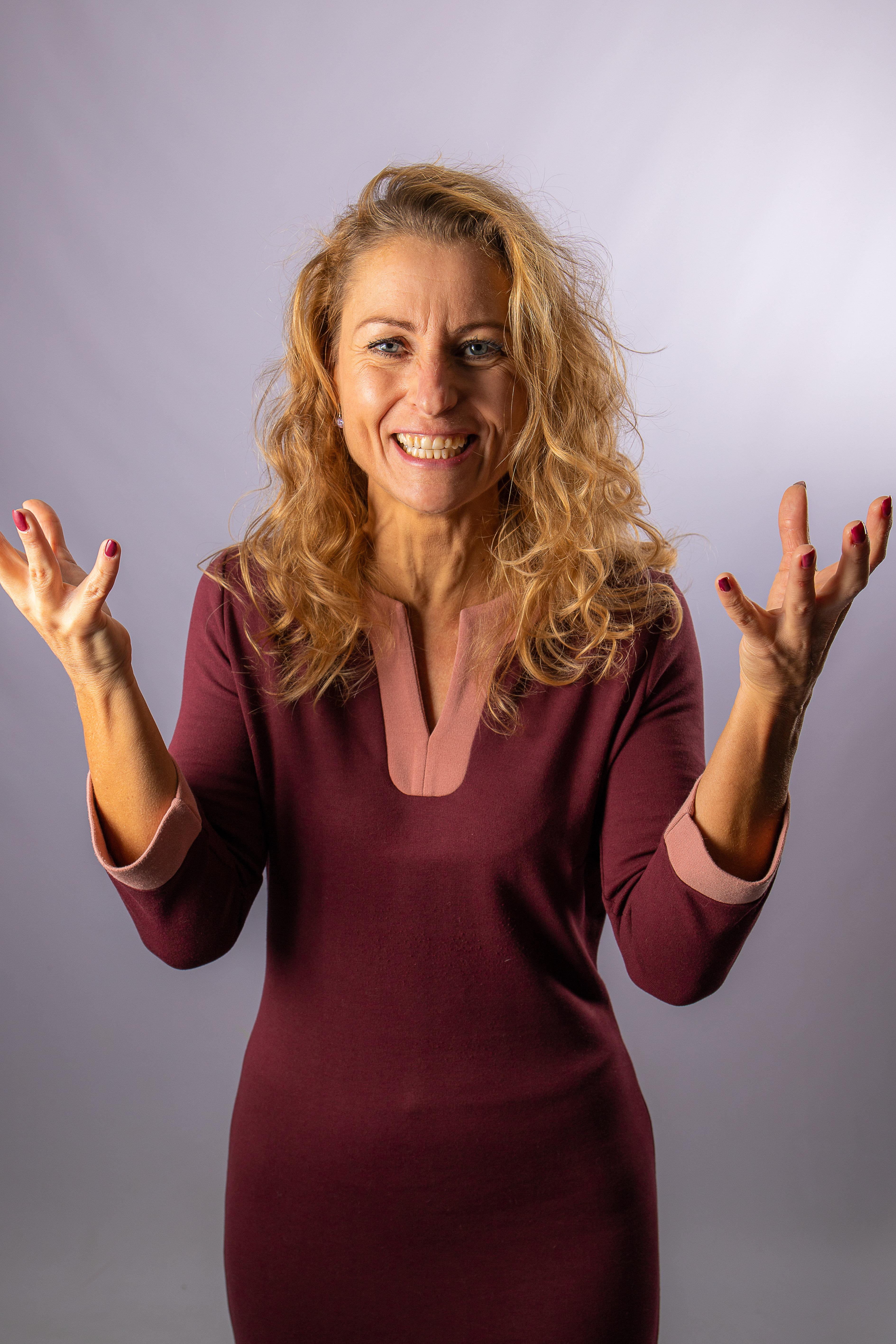 Jeanine Bosma, spreker, auteur van het boek LEEF